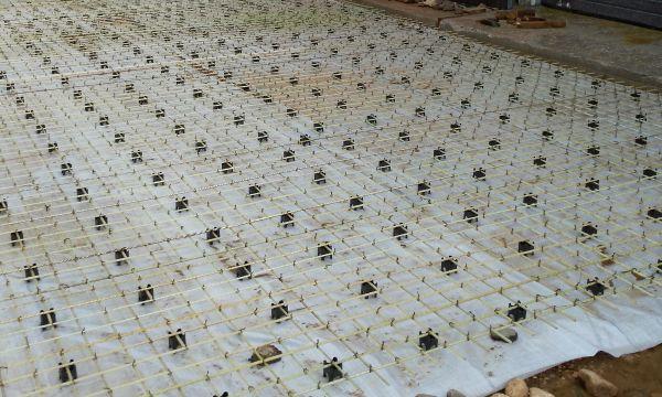 Фундамент из стеклопластиковой арматуры